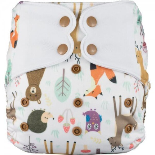 Elf Diaper (couche lavable évolutive à poche sans insert) Sweet friends