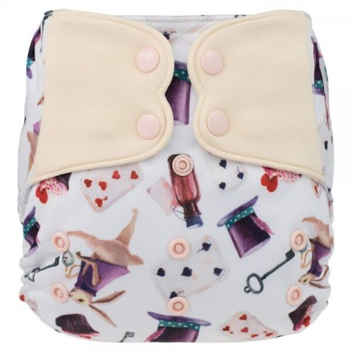 Elf Diaper (couche lavable évolutive à poche sans insert) Alice