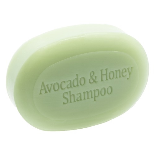 The soap works - Shampoing avocat miel en barre