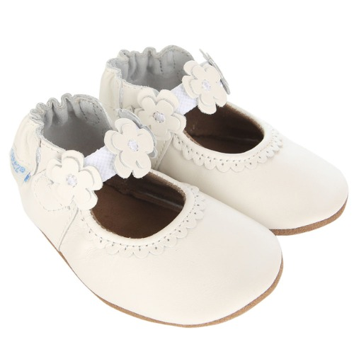 Chaussure Claire Mary Jane 18-24 Mois Blanc- Robeez