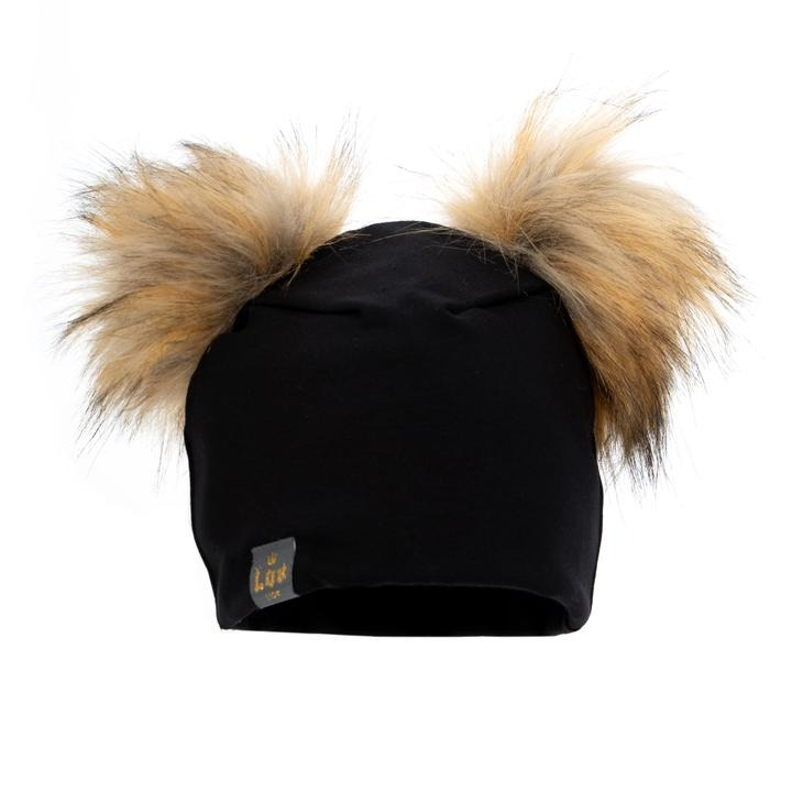 tuque 2 pompons lox lion