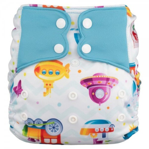 Elf Diaper (couche lavable évolutive à poche sans insert) Let's go!