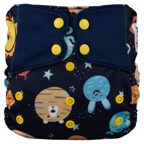 Elf Diaper (couche lavable évolutive à poche sans insert) Space