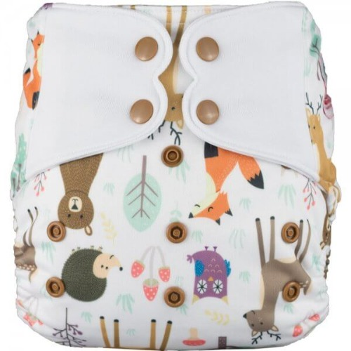 Elf Diaper (couche lavable évolutive tout-en-un) Sweet friends
