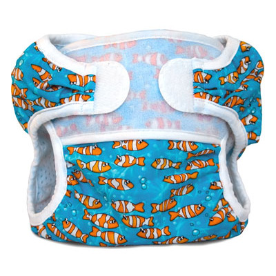 Couche maillot Swimmi Bummis - Poissons clowns taille M