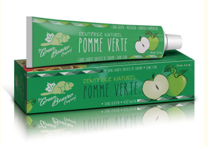 Dentifrice naturel Green Beaver