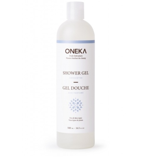 Oneka - Gel douche naturel non parfumé 500 ml