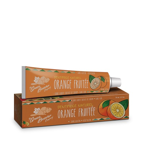 Orange fruitée