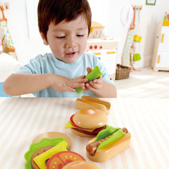 hape nourriture hamburgers et hot-dogs