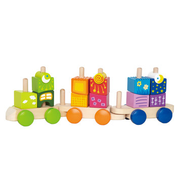Hape - Train de blocs fantaisie