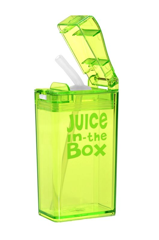 Boite à jus réutilisables Drink in the box - Vert 8 oz
