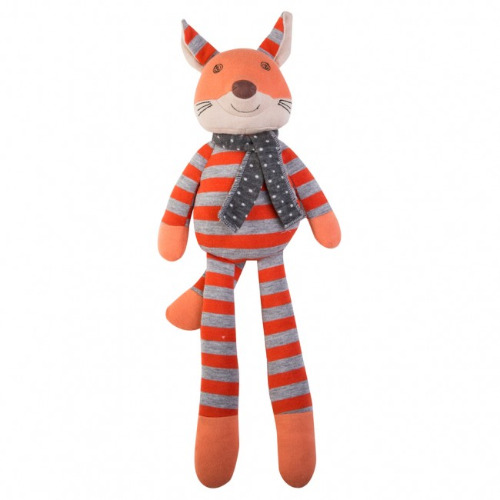 Peluche Organic Farm Buddies - Frenchy Fox