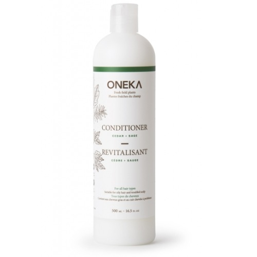 Oneka - Revitalisant naturel Cèdre et sauge 500 ml