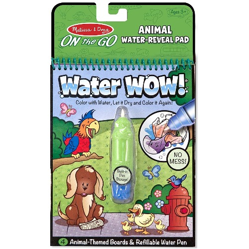 Melissa & Doug Water wow! Animaux