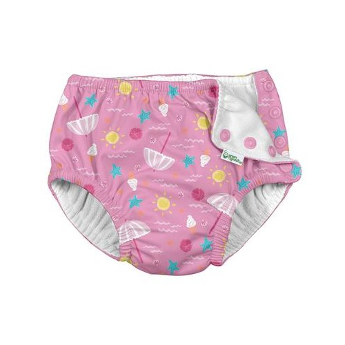I Play - Couche-Maillot light pink beach day 24mois