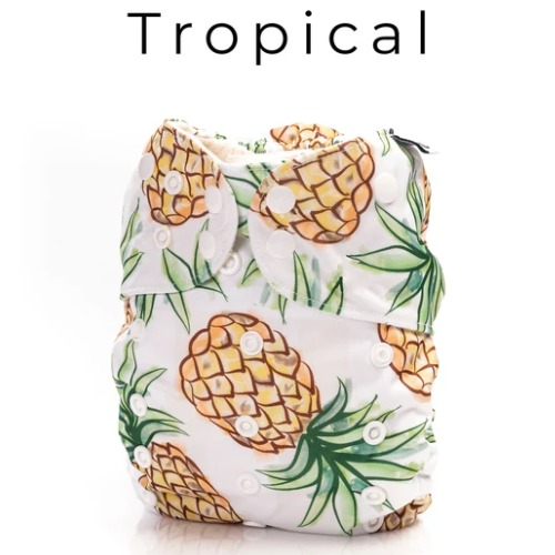 Mme & Co (Couche lavable évolutive 2.0) Tropical