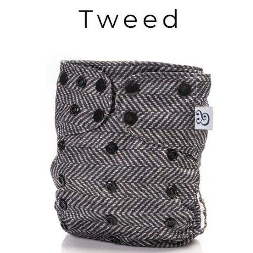 Mme & co (Couche lavable évolutive 2.0) Tweed